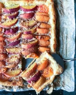 Peach & Apricot Torta